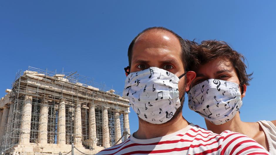 Viaje al Partenón de Atenas (Grecia) con Escuché viajando