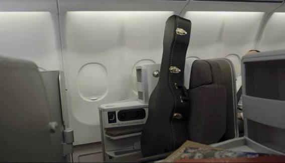 Llevar tu guitarra en el avión
