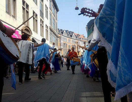 Escuché viajando en el Carnaval de Copenhague (Dinamarca)