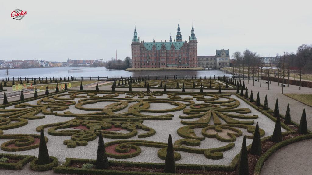 Jardín del Castillo de Frederiksborg (Dinamarca).