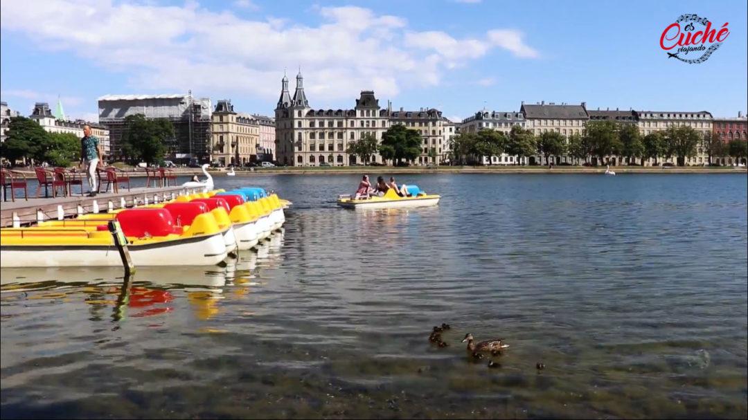 Los lagos de Copenhague (Dinamarca)